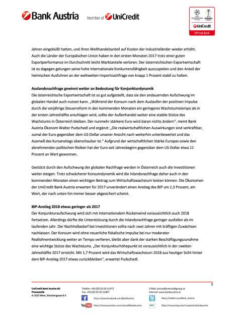 UniCredit Bank Austria Konjunkturindikator: Österreichs Wirtschaft im Sommerhoch, Seite 3/5, komplettes Dokument unter http://boerse-social.com/static/uploads/file_2309_unicredit_bank_austria_konjunkturindikator_osterreichs_wirtschaft_im_sommerhoch.pdf