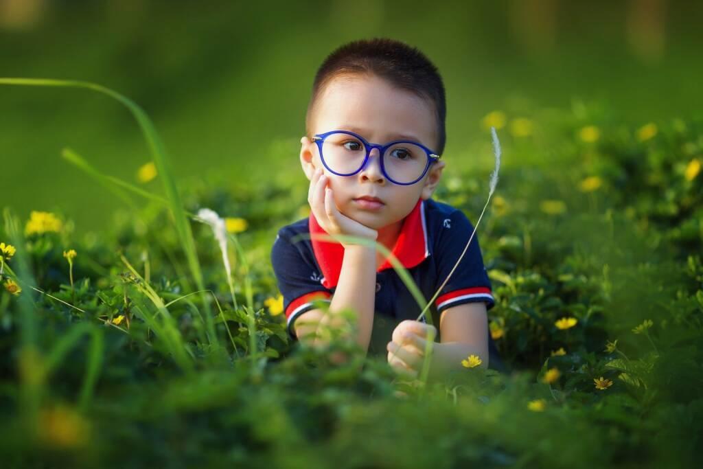 Kind, Kinder, nachdenken, Natur, Wiese, Gras, Grün (Bild: Pixabay/lichdinhtb https://pixabay.com/de/kinder-baby-der-sohn-liebe-1508121/ ) (21.08.2017)