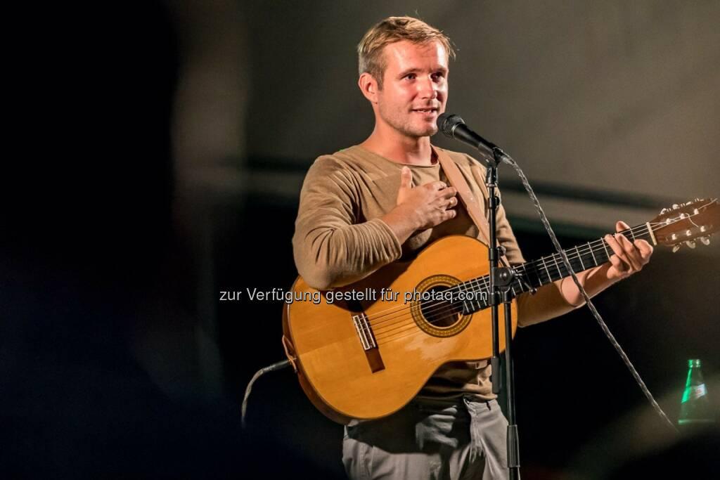 Brandstätter PR: Gernot Unterweger ist Musiker der Herzen (Fotocredit: Gernot Unterweger), © Aussender (22.08.2017)