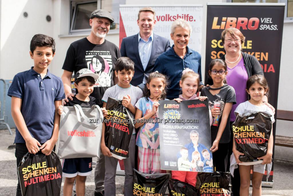 Volkshilfe Österreich: Mit Volkshilfe und LIBRO einem gelungenen Schulstsrt entgegenblicken (Fotograf: Christopher Glanzl / Fotocredit: Volkshilfe Österreich), © Aussender (22.08.2017)