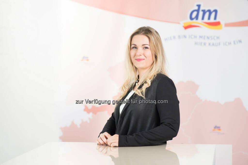 dm drogerie markt GmbH: Mag.(FH) Petra Gruber zur Geschäftsführerin bestellt: dm Österreich verstärkt Geschäftsführungsteam (Fotocredit: dm/Marco Riebler), © Aussender (24.08.2017)