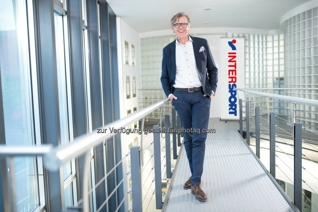 Dipl.-Kfm. Mathias Boenke, Geschäftsführer INTERSPORT Austria - INTERSPORT Austria: INTERSPORT: Größte Expansionswelle (Fotocredit: Intersport Austria), © Aussender (24.08.2017)