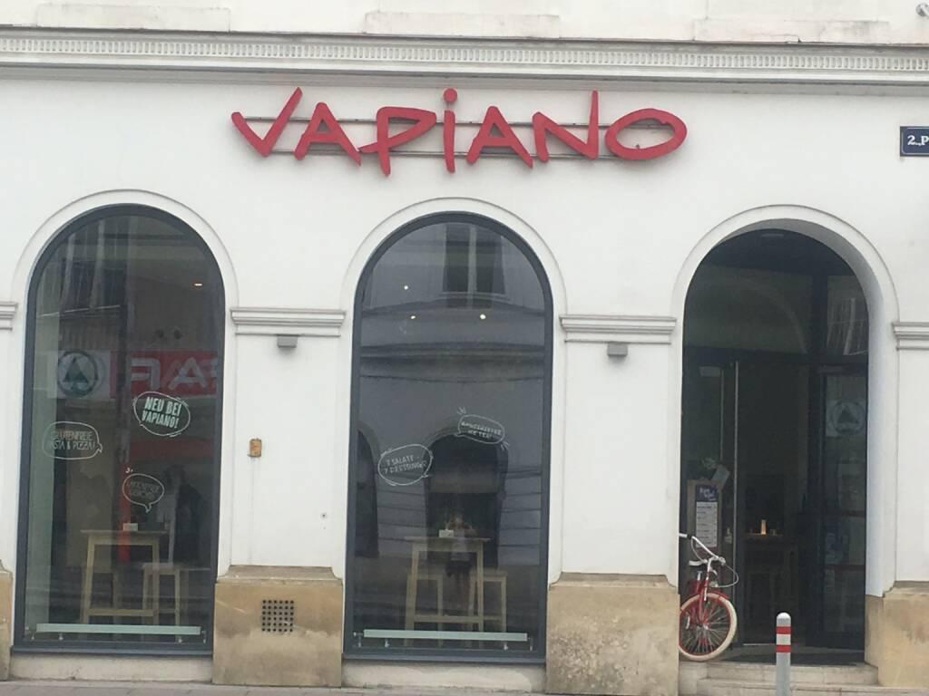 Vapiano, Wien, Praterstraße, © diverse photaq (25.08.2017)