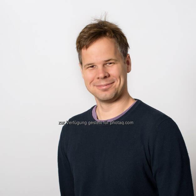 Maximilian Jösch kam Anfang 2017 an das IST Austria - IST Austria: Zwei ERC Starting Grants für IST Austria Professoren (Fotograf: Paul Pölleritzer / Fotocredit: IST Austria), © Aussender (04.09.2017)