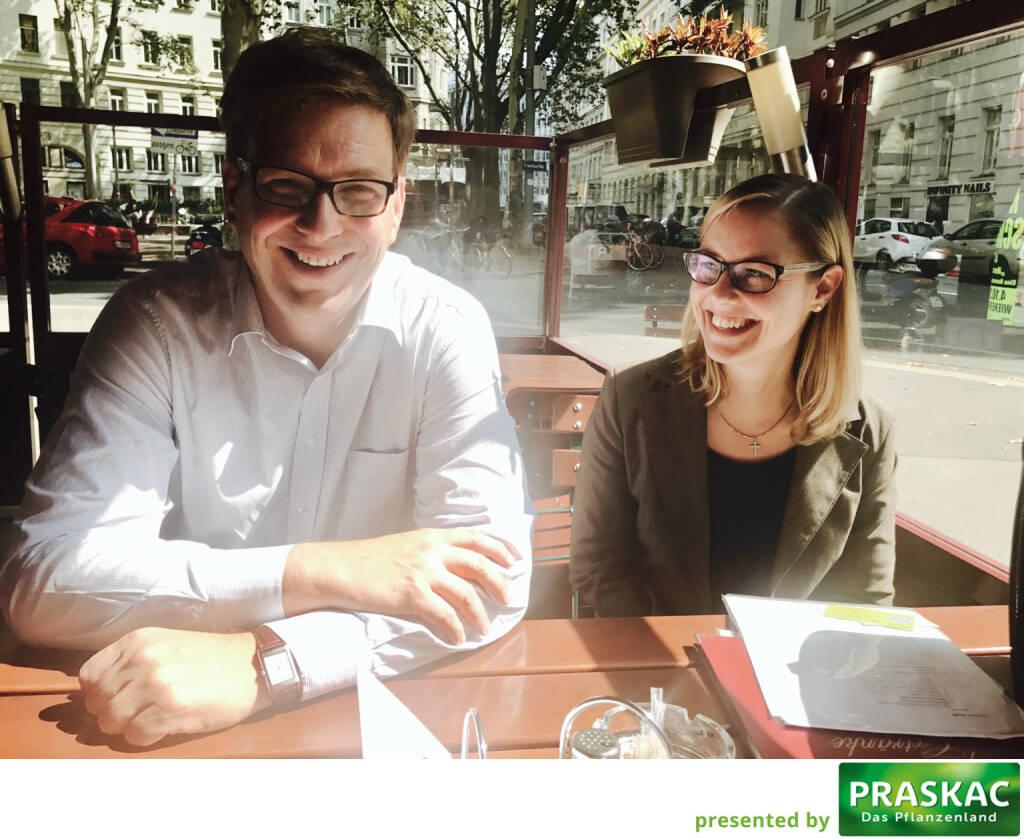 Mit Martin Theyer und Irene Bucnik beim Healthcare-Brainstormen (05.09.2017)