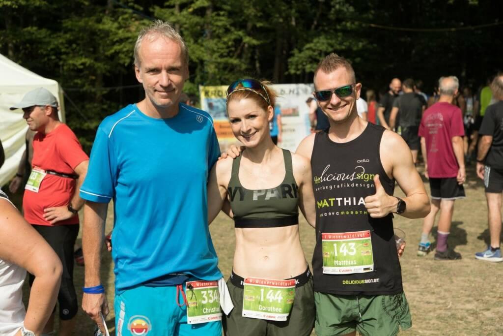Christian Drastil, Dorothee Bauer, Matthias Bauer (c) Baucek (05.09.2017)