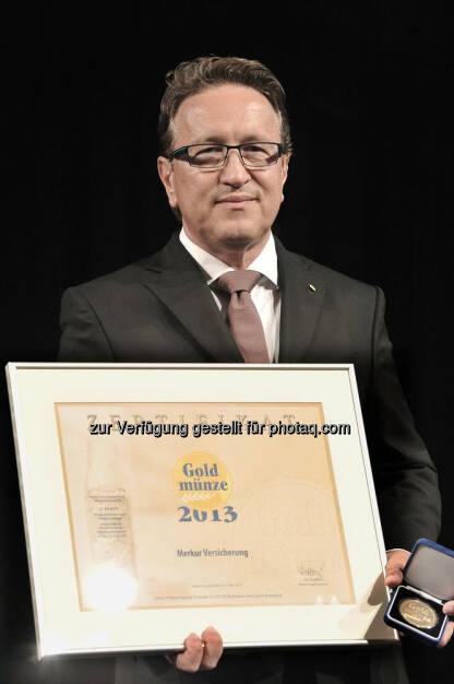 Merkur Versicherung, © Gold-Münze / Patockova (24.05.2013)