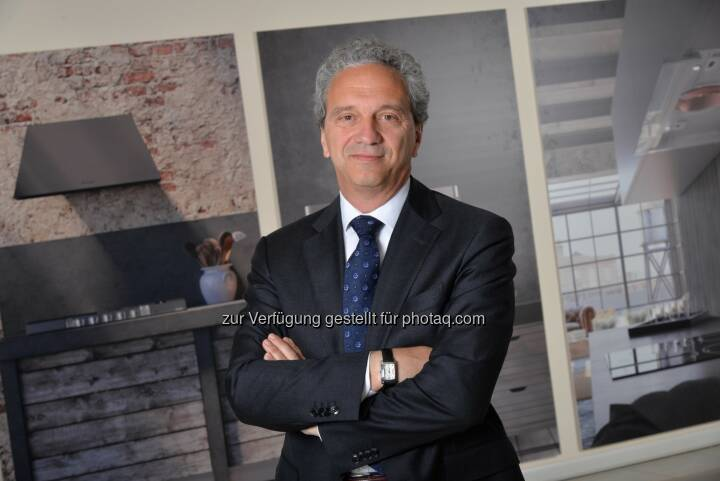 Ettore Zoboli übernimmt zum 1. Oktober die Leitung der neuen Division Faber und wird gleichzeitig Mitglied der Konzernleitung - Franke Group: Franke beschliesst neue Division Faber für Abzugshauben und Cooking (FOTO) (Fotocredit: Franke Group)