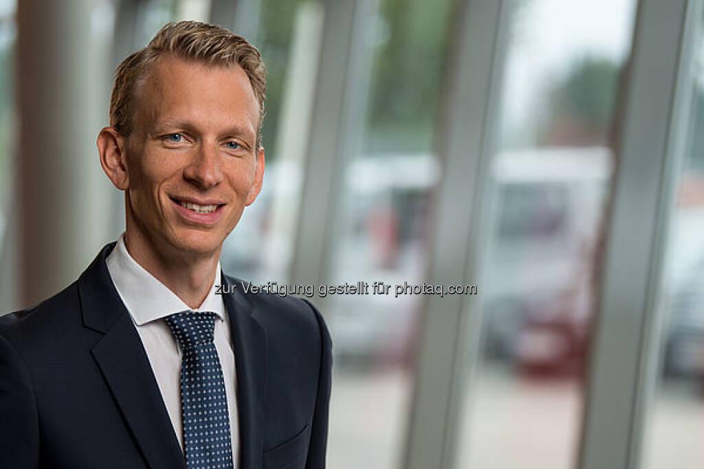 Sebastian Wolf, CFO Rosenbauer, Bild: Rosenbauer (07.09.2017)