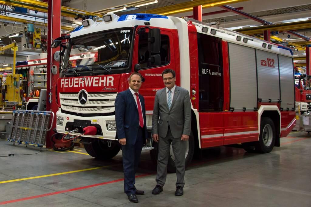 Rosenbauer International AG / Rosenbauer liefert wichtigen Beitrag zum Katastrophenschutz in Deutschland; Fotocredit: Rosenbauer, © Aussendung (08.09.2017)