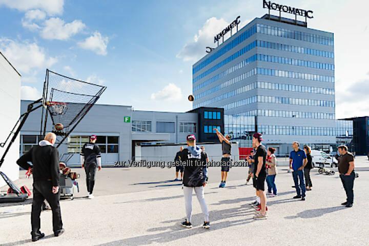 Im September 2017 fand der dritte NOVOMATIC Health Day im Headquarter in Gumpoldskirchen statt. Foto: Novomatic; Fotograf: THOMAS MEYER