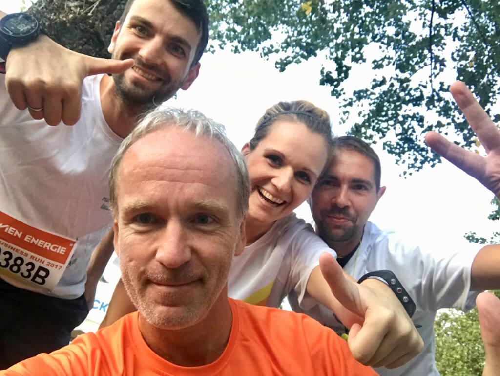 Yes vier : Ralph Zimmermann, Christian Drastil, Adina Zimmermann, Andreas Sorsky (08.09.2017)