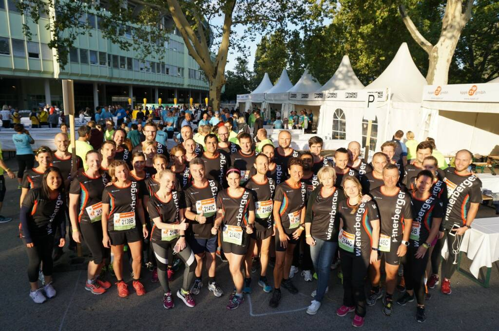 Wienerberger - Congratulations to all 15 Wienerberger Teams who participated at yesterday's #BusinessRun in Vienna (09.09.2017)