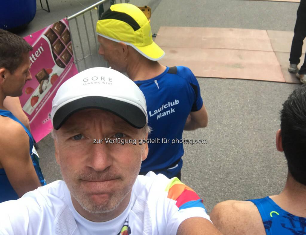 Vor dem Start mit Emil Jaidhauser (10.09.2017)