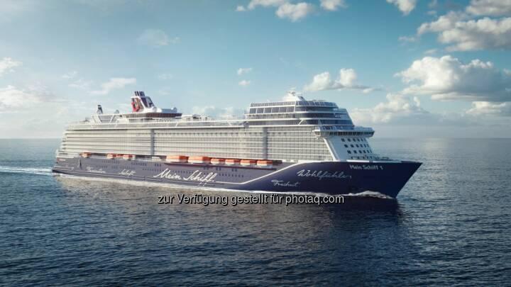 Die neue Mein Schiff 1 von TUI Cruises - TUI Cruises GmbH: Die neue Nummer Eins von TUI Cruises (Fotocredit: TUI Cruises GmbH)