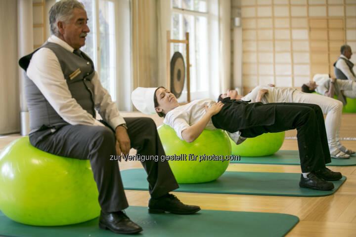 Österreichisches Netzwerk für Betriebliche Gesundheitsförderung: Betriebliche Gesundheitsförderung - Chance für Tiroler Tourismusbetriebe (Fotocredit: Netzwerk BGF/APA-Fotoservice/Hetfleisch)