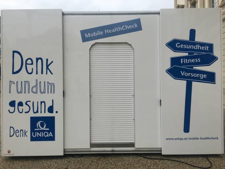 Uniqa: m neuen UNIQA Mobile HealthCheck können UNIQA Kunden ihre Gesundheit und Fitness überprüfen lassen