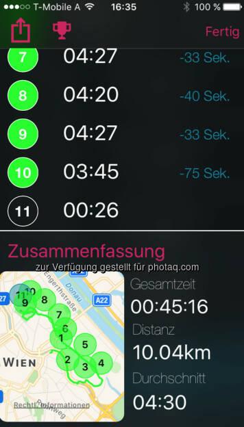 10k in 4:30 (13.09.2017)