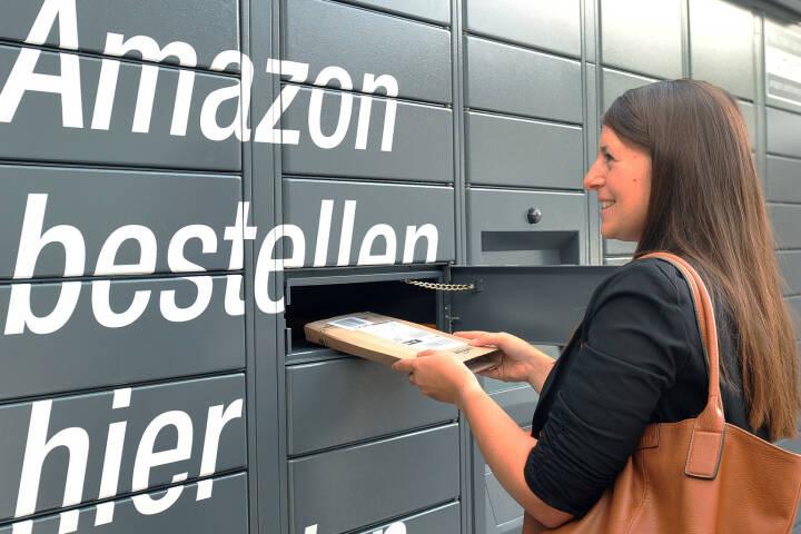 Die Nutzung von Amazon Locker ist einfach und sicher – ohne zusätzliche Anmeldung und ohne Zusatzkosten. (Fotocredit: Amazon)