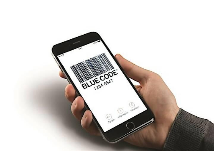 Heimische Bezahl-App Blue Code startet als einzige mobile und bargeldlose Zahlungslösung auf dem Münchner Oktoberfest; Fotocredit: Secure Payment Technologies