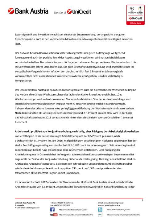 Österreichs Wirtschaft nimmt ihren Schwung in den Herbst mit, Seite 3/4, komplettes Dokument unter http://boerse-social.com/static/uploads/file_2339_osterreichs_wirtschaft_nimmt_ihren_schwung_in_den_herbst_mit.pdf