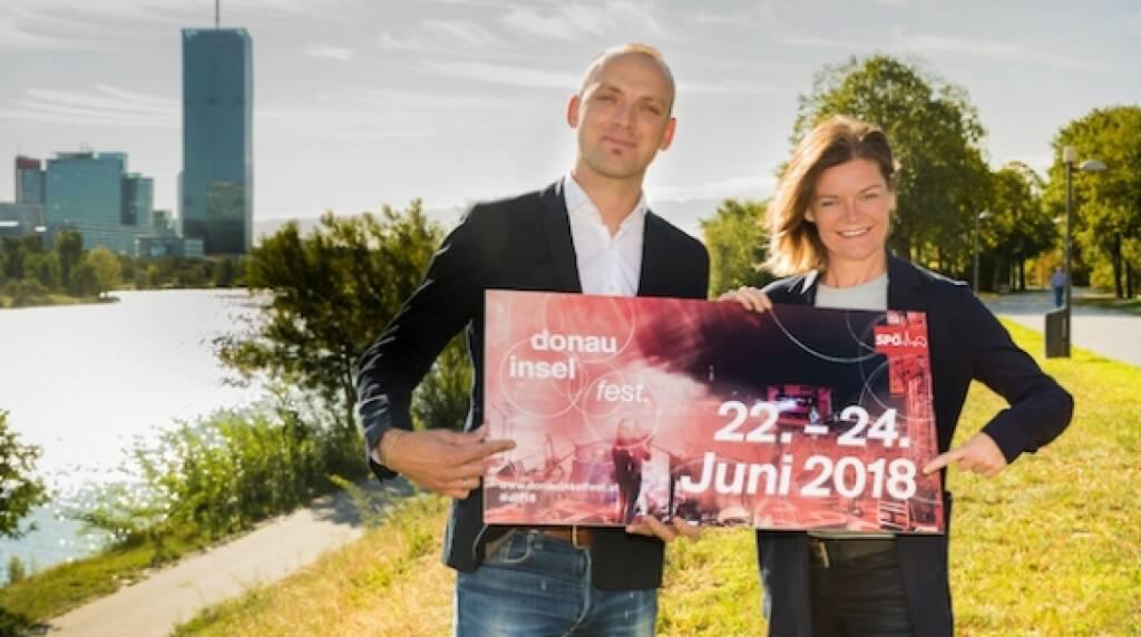 Donauinselfest-Resumee: 2,8 Millionen Besuchen und Gesamt-Werbewert von 130 Millionen Euro. Bild Thomas Waldner, Sybille Straubinger © Thomas Peschak (18.09.2017)