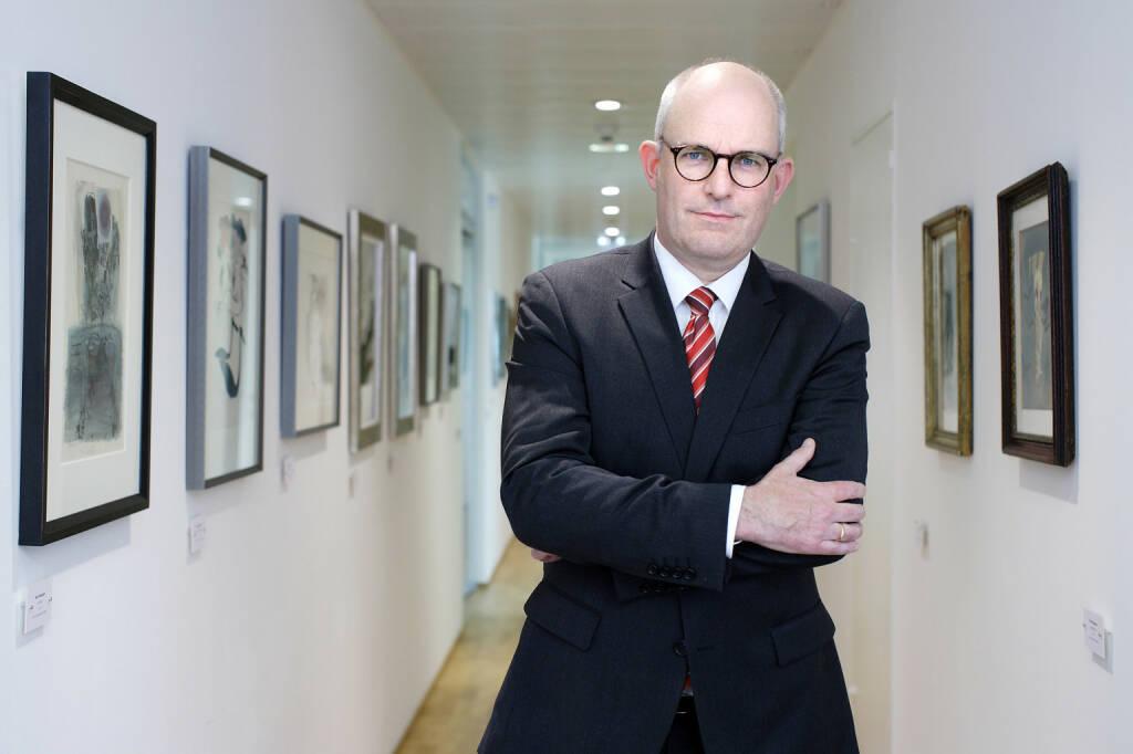 CMS Managing Partner Peter Huber berät die slowakische Arca Capital Gruppe beim Erwerb der Wiener Privatbank SE; Fotocredit: CMS, © Aussendung (20.09.2017)