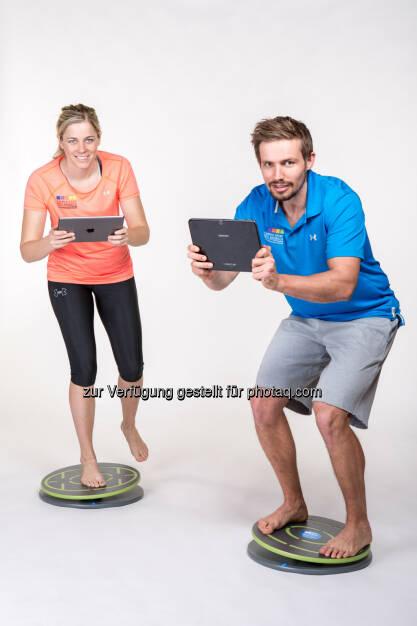 MFT Multifunktionale Trainingsgeräte GmbH: Jeder Fuß ist anders: Neue App ermöglicht weltweit erstmals kontrolliertes Einbeinstand-Training (Fotocredit: MFT), © Aussendung (25.09.2017)