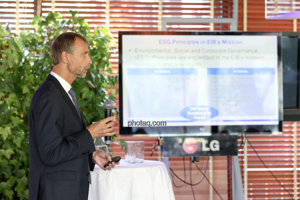 Martin Brunkhorst (Director of EIB Bureau Vienna) - 4-your-biz Impact-Investing Konferenz (Fotocredit: Katharina Schiffl for photaq.com) (29.09.2017)