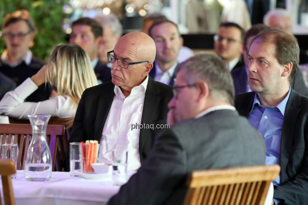 4-your-biz Impact-Investing Konferenz: Rudolf Diewald (VVÖ), Thomas Zibuschka (VÖIG) (Fotocredit: Katharina Schiffl for photaq.com) (29.09.2017)