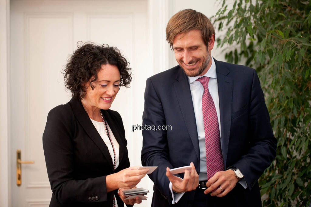 Susanne Lederer-Pabst (4-your-biz.com) - Christoph Moser (Partner bei Weber & Co. Rechtsanwälte) - (Fotocredit: Michaela Mejta für photaq.com), © Michaela Mejta für photaq.com (02.10.2017)