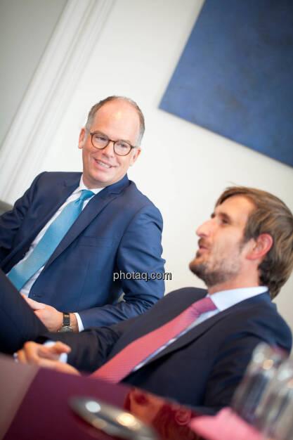 Karsten Wöckener (White & Case) - Christoph Moser (Partner bei Weber & Co. Rechtsanwälte) - (Fotocredit: Michaela Mejta für photaq.com), © Michaela Mejta für photaq.com (02.10.2017)