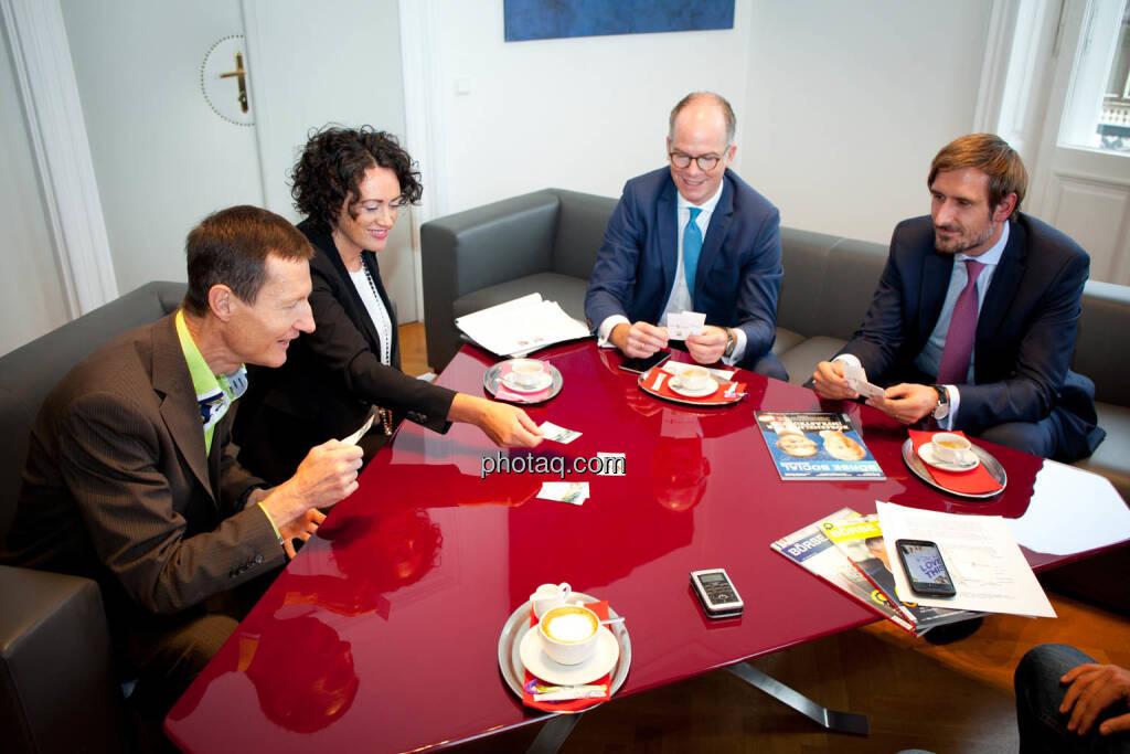 Florian Vanek (Wiener Börse) - Susanne Lederer-Pabst (4-your-biz.com) - Karsten Wöckener (White & Case) - Christoph Moser (Partner bei Weber & Co. Rechtsanwälte) - (Fotocredit: Michaela Mejta für photaq.com), © Michaela Mejta für photaq.com (02.10.2017)