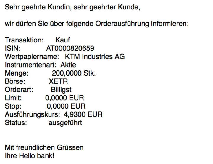 Kauf KTM für #100100hello #goboersewien