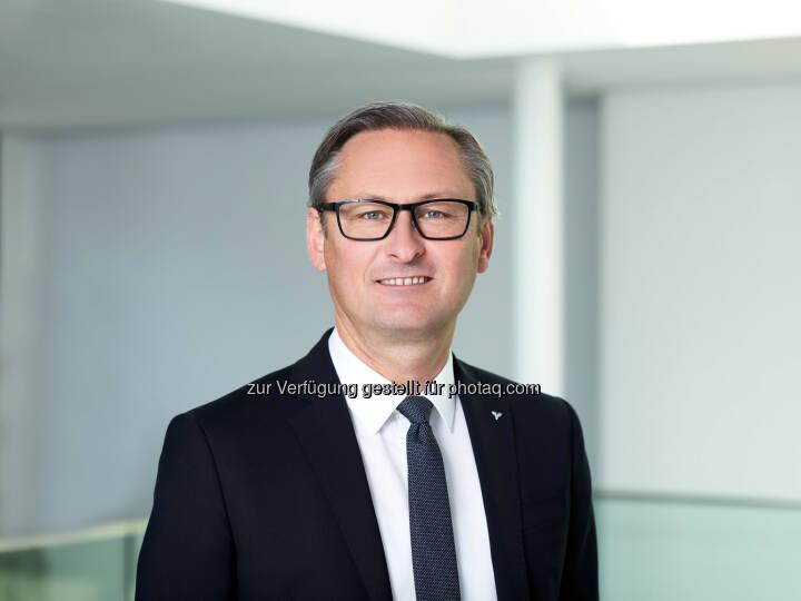 Gerhard Hamel neuer Präsident des ÖGV - Österreichischer Genossenschaftsverband: Gerhard Hamel neuer Präsident des ÖGV (Fotograf: Marcel Hagen / Fotocredit: Volksbank Vorarlberg/studio22)