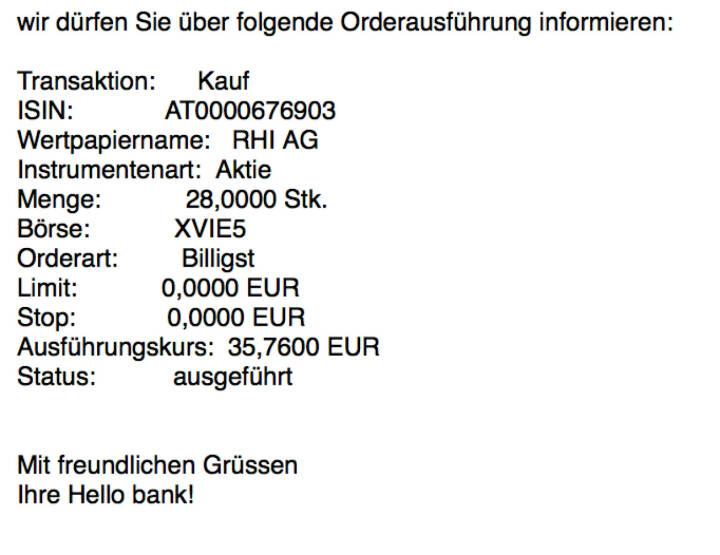 Kauf RHI für #100100hello #goboersewien