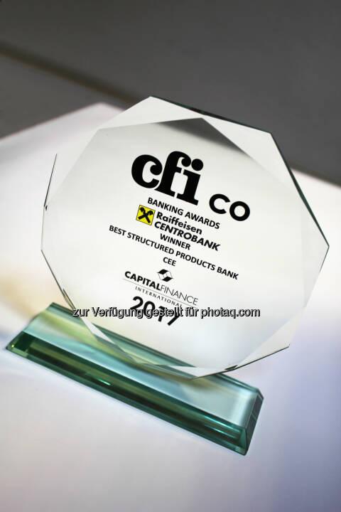 RCB holt CEE-Zertifikate-Award von CFI.co