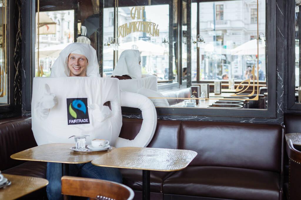 Café Schwarzenberg unterstützt die Fairtrade Kaffee Challenge, um die Lebens- und Arbeitsbedingungen der Bauernfamilien in den Anbaugebieten zu verbessern. Fotocredit: Fairtrade  Österreich, © Aussendung (06.10.2017)