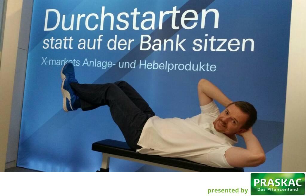 Durchstarten statt auf der Bank sitzen - Christian-Hendrik Knappe, Deutsche Bank X-markets, Runplugged Laufstark (07.10.2017)