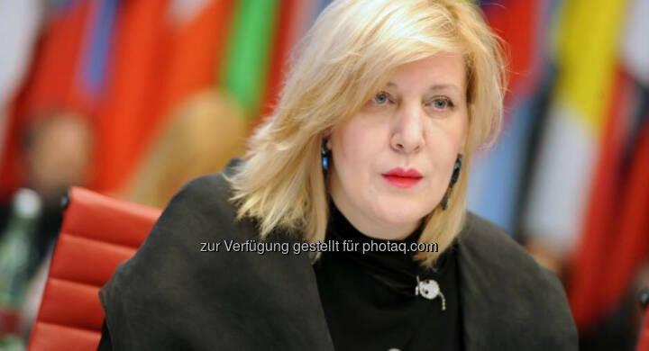 Dunja Mijatovic - Journalistinnenkongress: Der hohe Preis der Pressefreiheit (Fotocredit: k.A.)