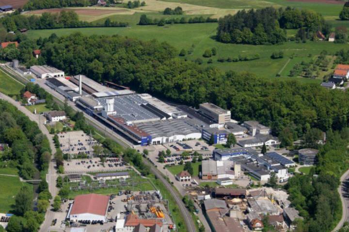 Varta AG, Werk, Ellwangen; Bild: varta-ag.com