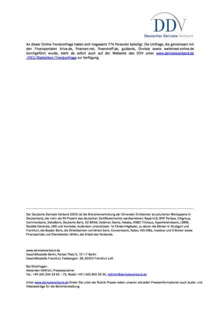 DDV-Umfrage: Zertifikate werden aus Renditeerwägungen gekauft, Seite 2/2, komplettes Dokument unter http://boerse-social.com/static/uploads/file_2361_ddv-umfrage_zertifikate_werden_aus_renditeerwagungen_gekauft.pdf (11.10.2017)