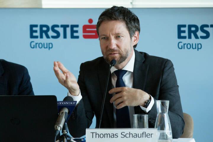Thomas Schaufler, Privatkundenvorstand der Erste Bank Oesterreich, Fotocredit: Erste Bank
