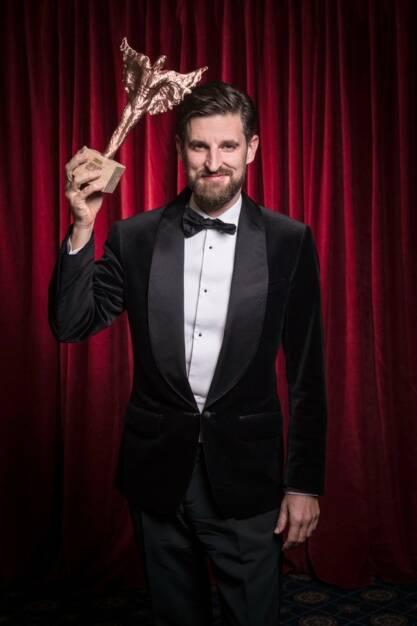 """Bei der achten Verleihung der """"Rolling Pin Awards"""" wurde Sascha Marx, der General Manager des Falkensteiner Schlosshotel Velden, zum """"Hotelier des Jahres 2017"""" gekürt; Foto: Rolling Pin, © Aussendung (18.10.2017)"""