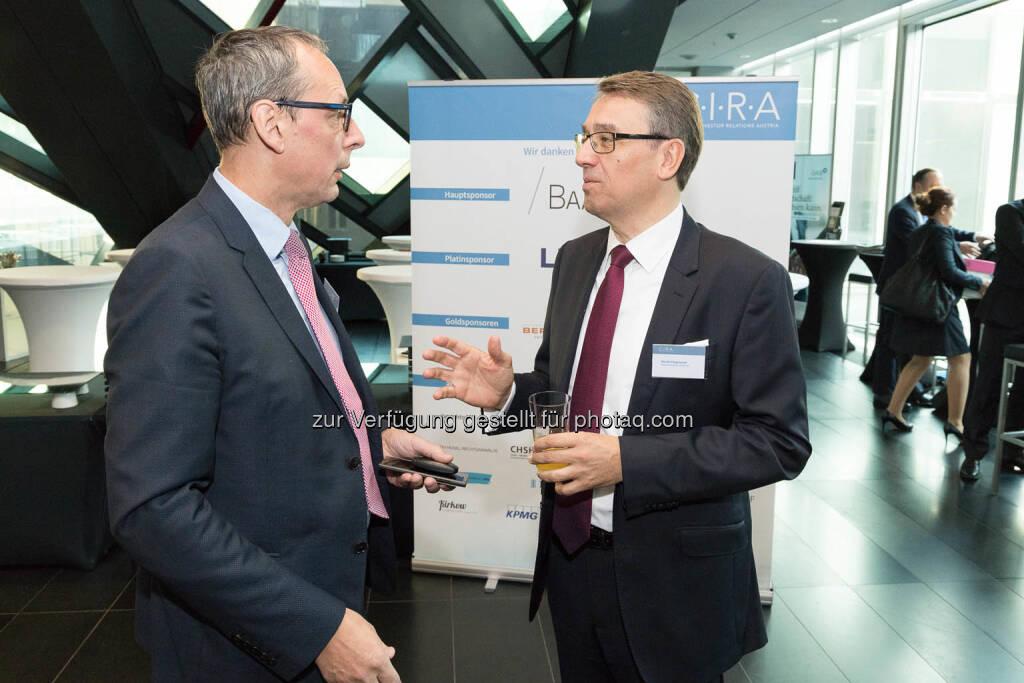 Wilhelm Celeda, Harald Hagenauer, © C.I.R.A./APA-Fotoservice/Martin Lusser (18.10.2017)