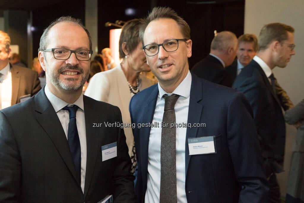 Paul Severin, Stefan Maxian, © C.I.R.A./APA-Fotoservice/Martin Lusser (18.10.2017)