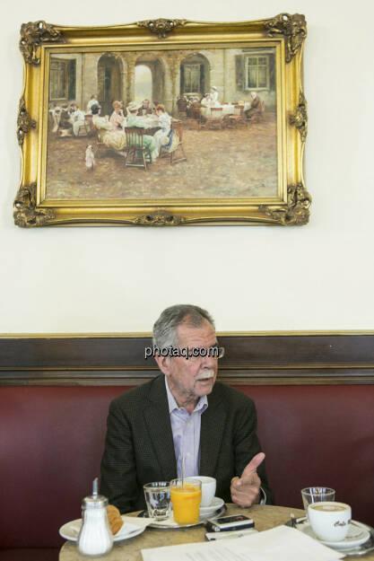 Alexander van der Bellen, © finanzmarktfoto.at/Martina Draper (29.05.2013)