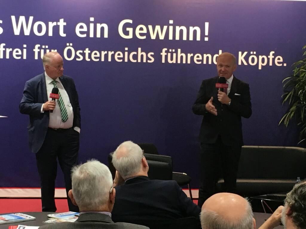 Star der Stunde: Amag-CEO Helmut Wieser (19.10.2017)
