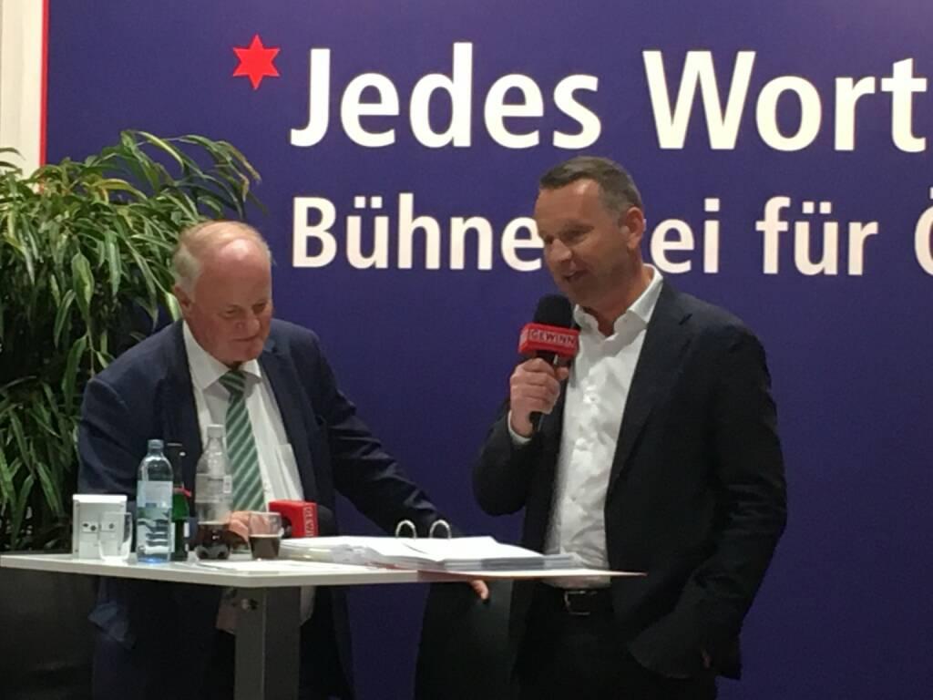 Star der Stunde: Palfinger CEO Herbert Ortner (19.10.2017)