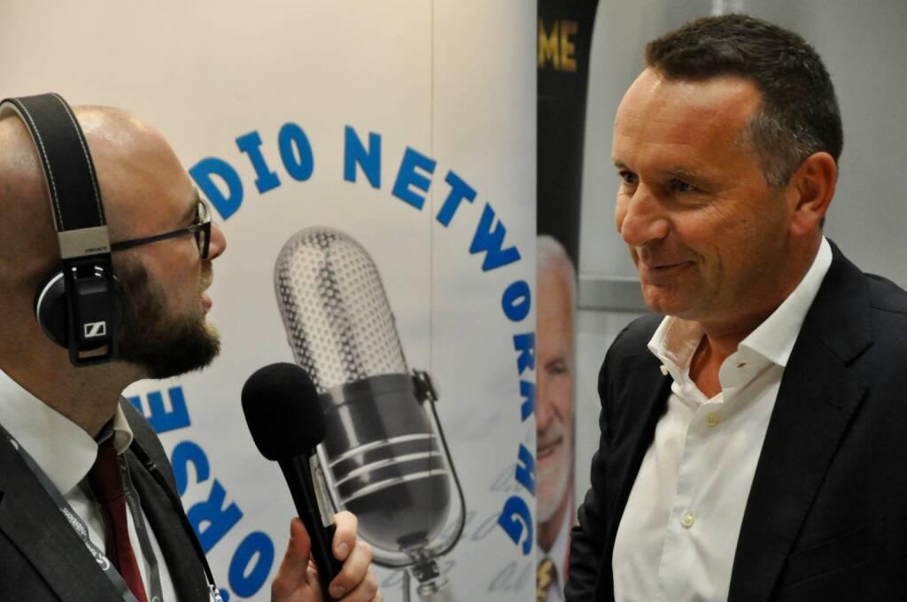 Sebastian Leben (boersenradio.at), Herbert Ortner (CEO Palfinger) (20.10.2017)